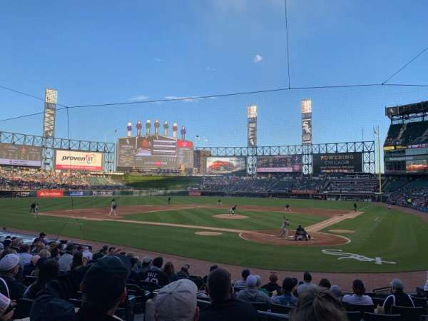 Guaranteed Rate Field, section: 134, row: 16, seat: 7