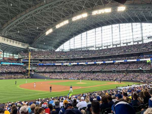 Miller Park, section: 126, row: 24, seat: 6