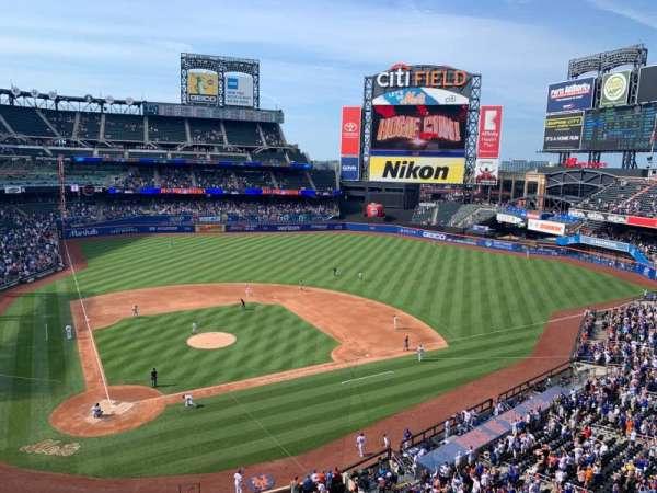 Citi Field, section: 411, row: 1, seat: 11