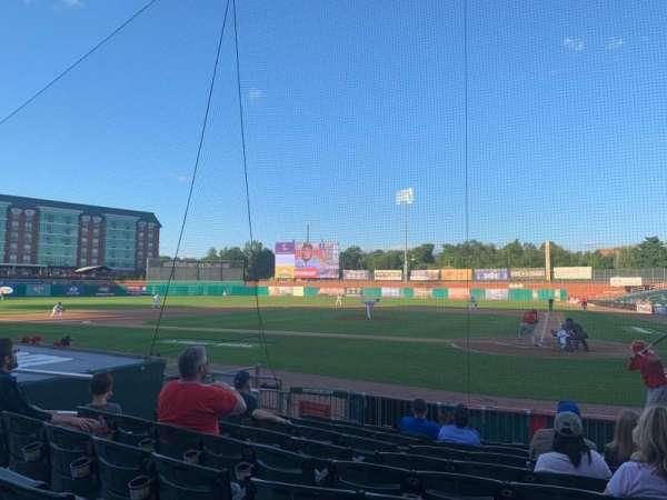 Northeast Delta Dental Stadium, section: 107, row: J, seat: 12