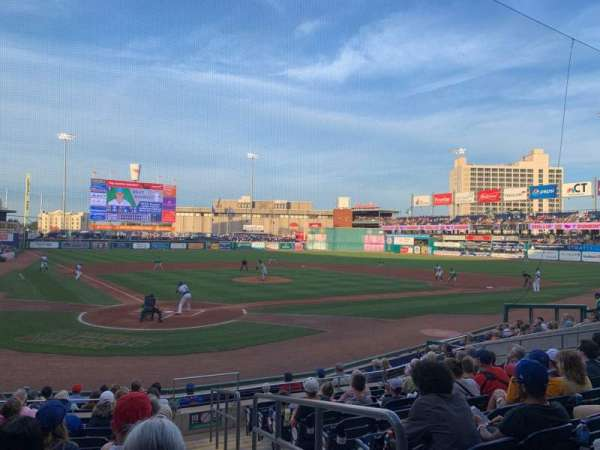 Dunkin' Donuts Park, section: 110, row: L, seat: 1