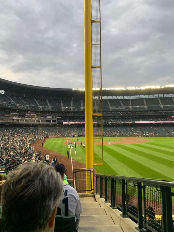 T-Mobile Park, section: 110, row: 31, seat: 1