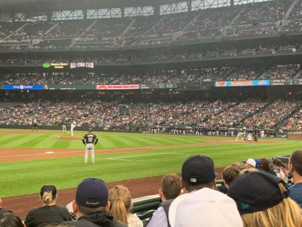 T-Mobile Park, section: 141, row: 6, seat: 11