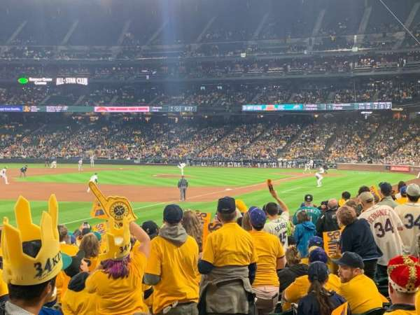 T-Mobile Park, section: 146, row: 18, seat: 5