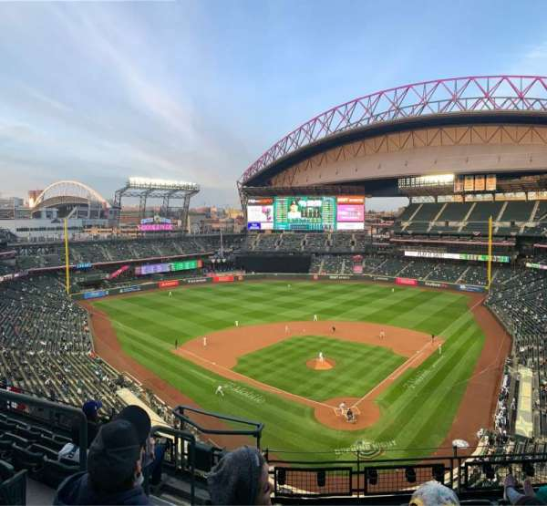 T-Mobile Park, section: 331, row: 6, seat: 16