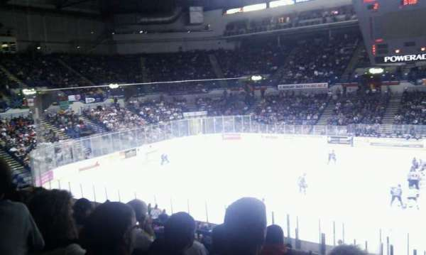 FlyDSA Arena, section: 217, row: E, seat: 20