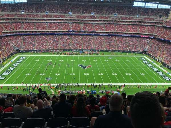 NRG Stadium, section: 609, row: L, seat: 13