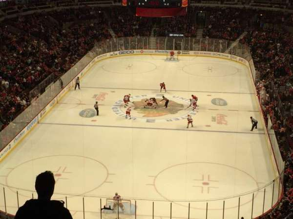United Center, section: 308, row: 7, seat: 14