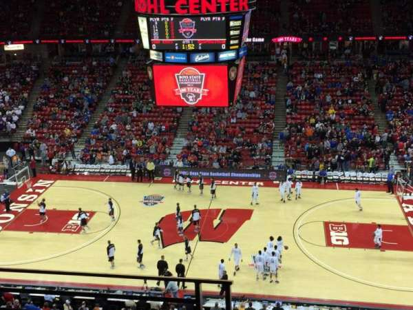 Kohl Center, section: 307, row: C, seat: 18