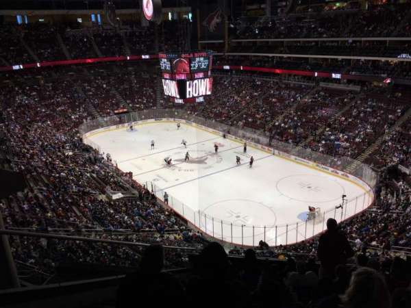 Gila River Arena, section: 226, row: K, seat: 18