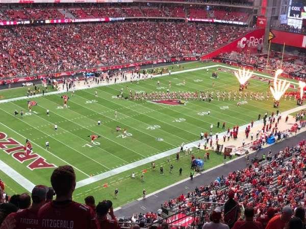 State Farm Stadium, section: 421, row: 13, seat: 8