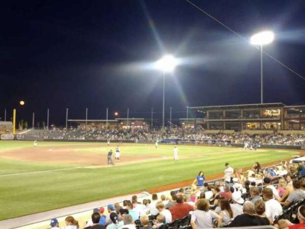 Werner Park, section: 122, row: 11, seat: 7