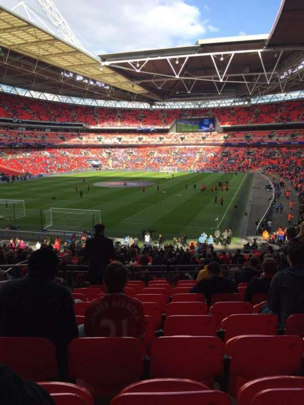 Wembley Stadium, section: 131, row: 40, seat: 241
