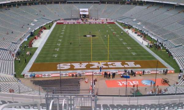 Cotton Bowl, section: 117, row: 23, seat: 31