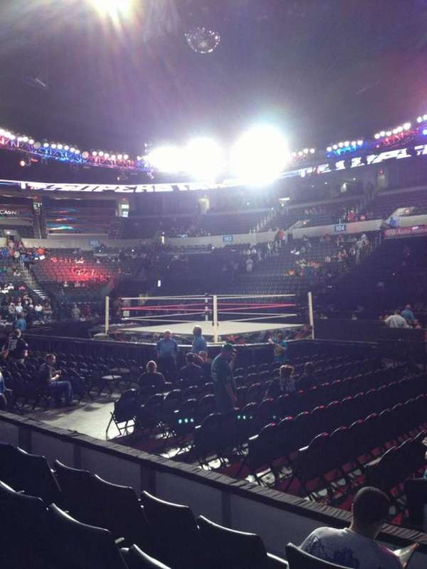 Chesapeake Energy Arena, section: 115, row: D, seat: 1