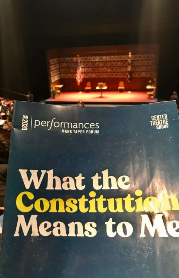 Mark Taper Forum, section: flr, row: N, seat: 113