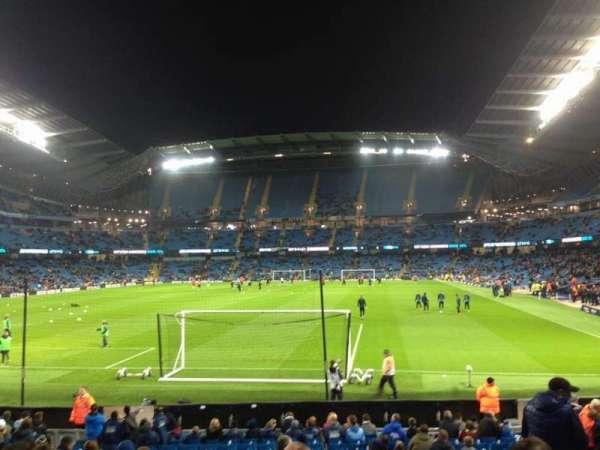 Etihad Stadium (Manchester), section: 135, row: U, seat: 971