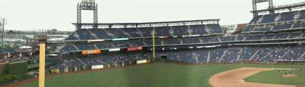 Citizens Bank Park, section: 434, row: 2, seat: 16-17