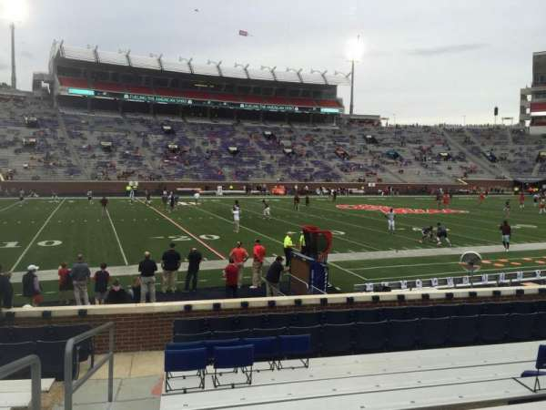 Vaught-Hemingway Stadium, section: G, row: 9, seat: 29