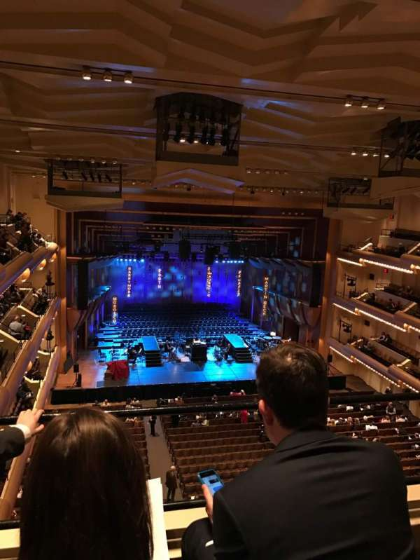 David Geffen Hall, section: Third Tier, row: BB, seat: 11
