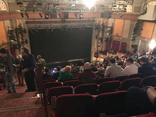 Neil Simon Theatre, section: Mezzanine, row: S, seat: 101