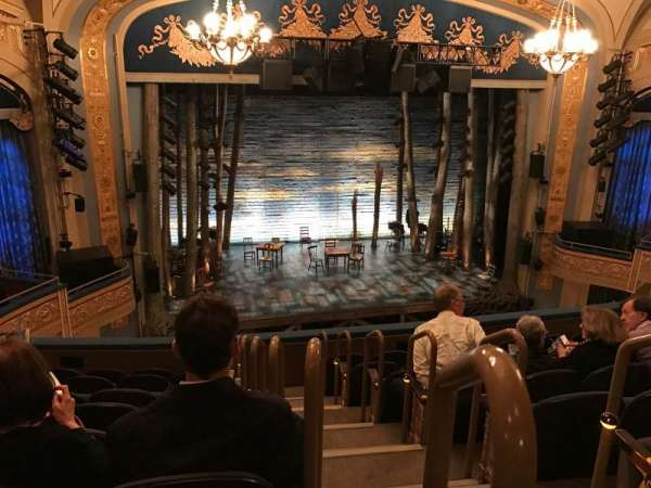 Gerald Schoenfeld Theatre, section: Mezzanine L, row: H, seat: 1