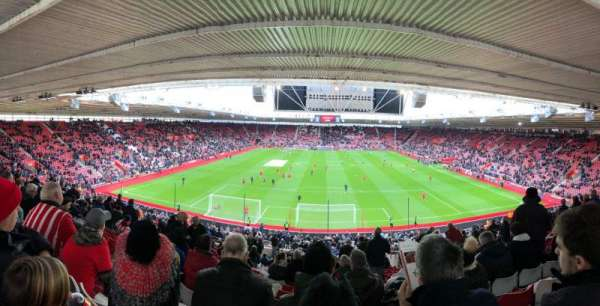 St Mary's Stadium, section: 18, row: NN, seat: 0484