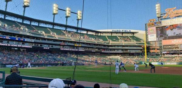 Comerica Park, section: 119, row: 6, seat: 12