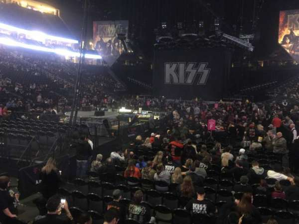 T-Mobile Arena, section: 12, row: A, seat: 4