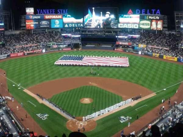 Yankee Stadium, section: 420B, row: 13, seat: 1
