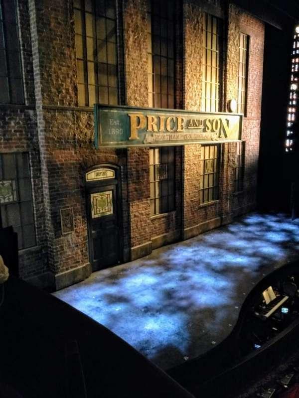 Al Hirschfeld Theatre, section: Left Box, row: C, seat: 6