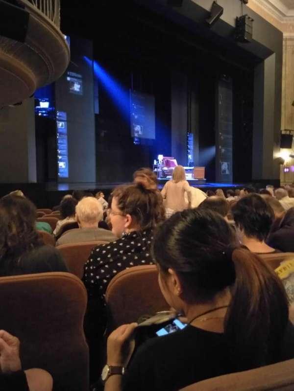 Music Box Theatre, section: Orchestra L, row: L, seat: 23