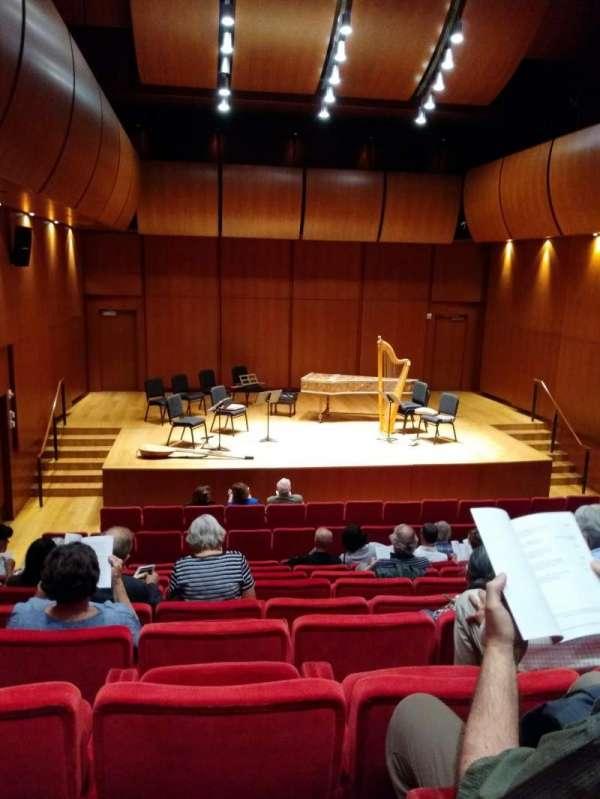 Gilder Lehrman Hall, section: Orchestra, row: H, seat: 4