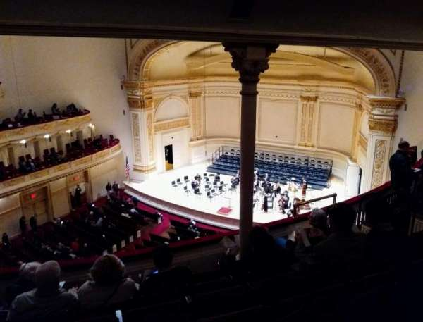 Carnegie Hall, section: Dress Circle R, row: FF, seat: 38