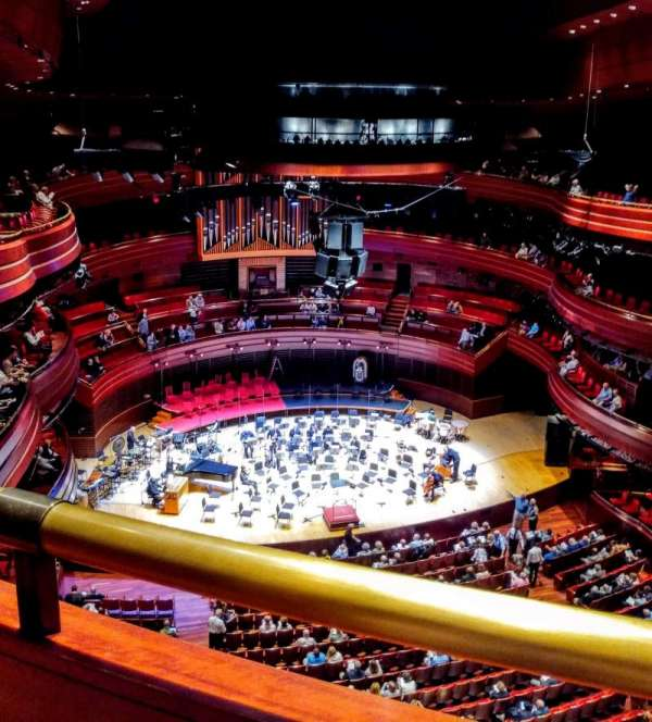 Verizon Hall at the Kimmel Center, section: Tier 3, row: A, seat: 139