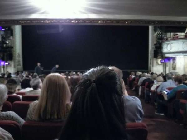 Cort Theatre, section: Orchestra C, row: O, seat: 112