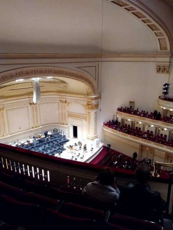 Carnegie Hall, section: Lower Side Balcony L, row: D, seat: 51