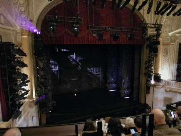 Samuel J. Friedman Theatre, section: Mezzanine L, row: C, seat: 1