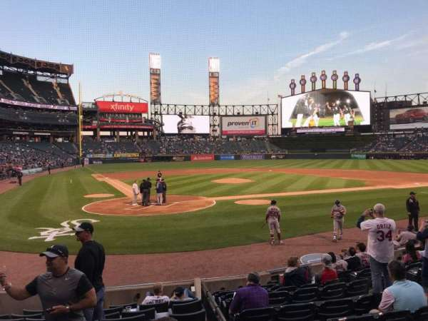 Guaranteed Rate Field, section: 130, row: 26, seat: 5