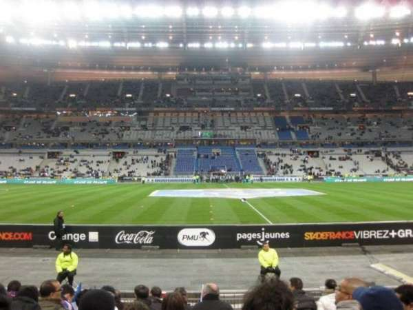 Stade de France, section: Tribune Base- Est G5, row: 10, seat: 10