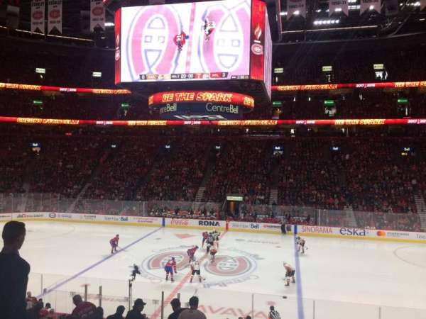 Centre Bell, section: 112, row: O, seat: 9