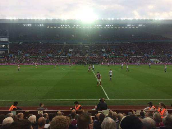 Villa Park, section: M2, row: K, seat: 115