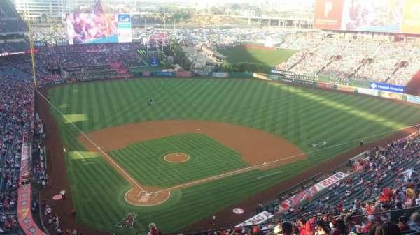 Angel Stadium, section: MVP 523, row: P, seat: 7