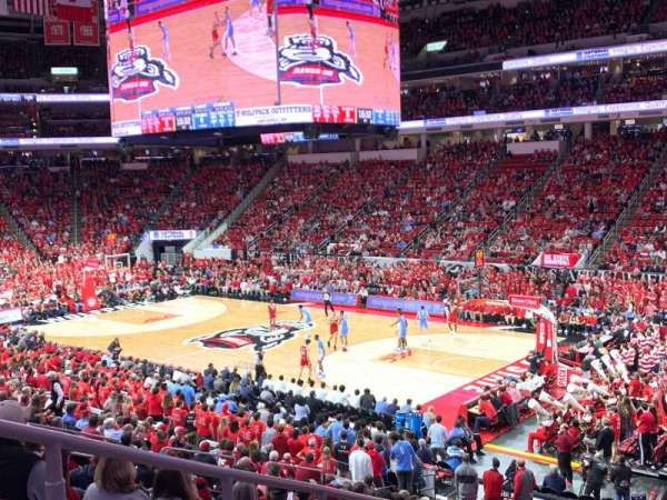 PNC Arena, section: 115, row: Z, seat: 16
