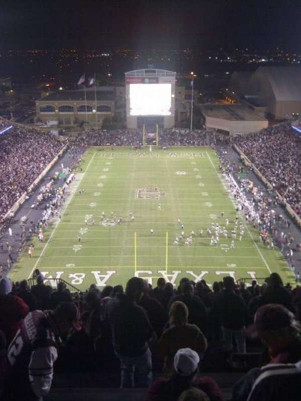 Kyle Field, section: 513, row: 26, seat: 10