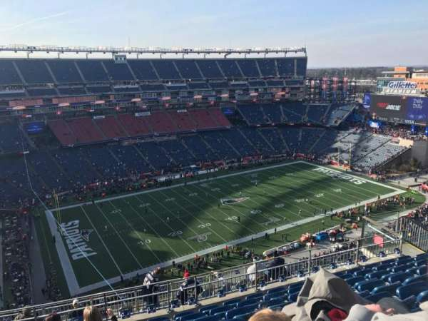 Gillette Stadium, section: 314, row: 15, seat: 16