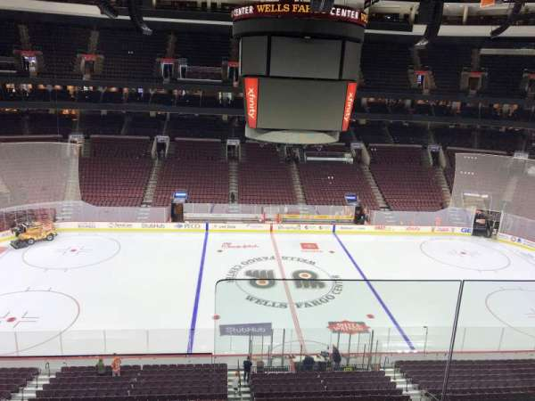 Wells Fargo Center, section: 212, row: 2, seat: 19