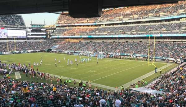 Lincoln Financial Field, section: LS72, row: 1, seat: 1