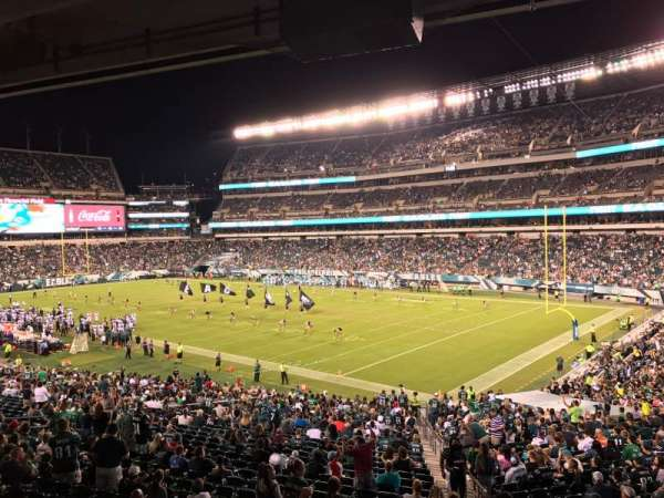 Lincoln Financial Field, section: LS72, row: 3, seat: 5
