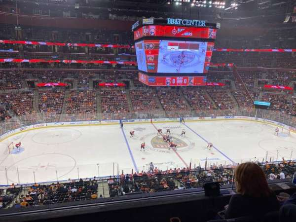 BB&T Center, section: CL02, row: 3, seat: 13